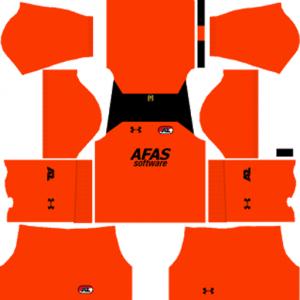 AZ Alkmaar GK Away