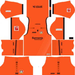 Bayer Leverkusen GK Kit
