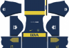 Boca Juniors Home Kit