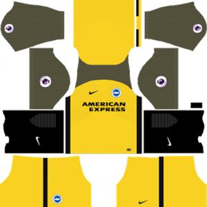 Brighton & Hove Albion Away Kit