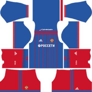 CSKA Moscow Home Kit