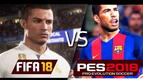 FIFA Vs PES 2018