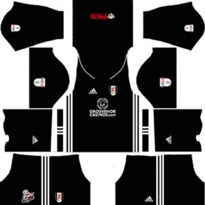Fulham Away Kit2