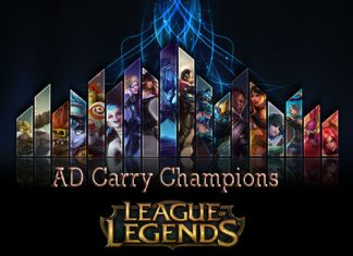 League of Legends AD Carry Champions