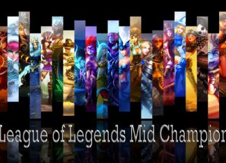 League of Legends Mid Champions