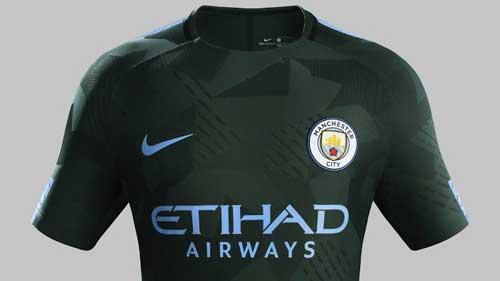 Manchester City's 2017-2018 third jersey