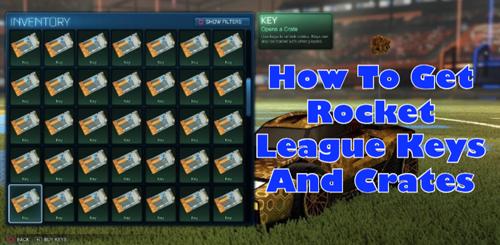 Rocket League Keys And Crates