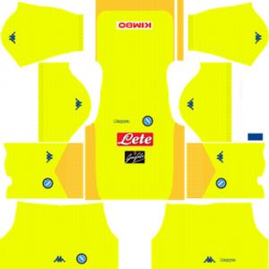 SSC Napoli Away Kit
