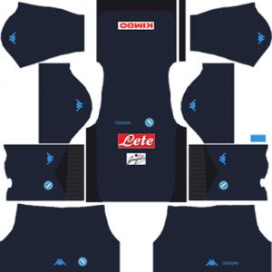 SSC Napoli Third Kit