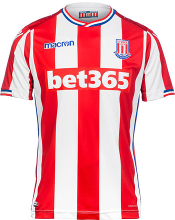 Stoke City 2017-18 Home Kit