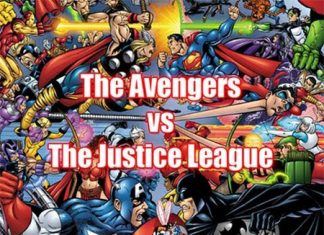 The Avengers vs The Justice League