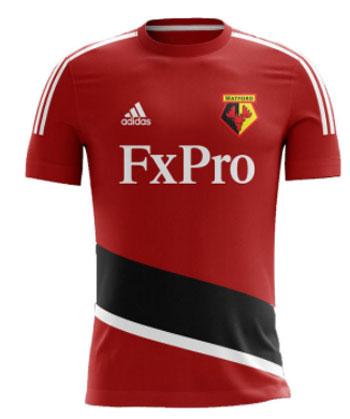 Watford Team Away kit 17-18