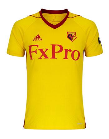 Watford Team Home Kit 17-18
