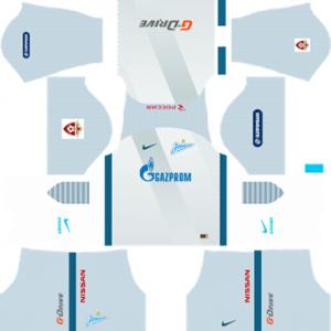 Zenit St Petersburh Away Kit