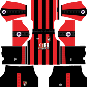 A.F.C. Bournemouth Home Kit