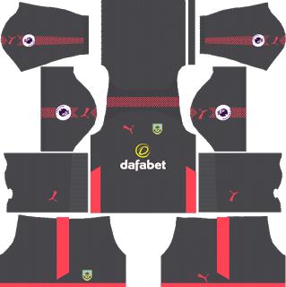 Burnley F.C. GoalkeeperAway Kit
