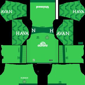 Chapecoense Goalkeeper Away Kit