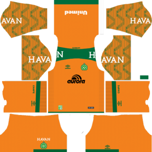 Chapecoense Goalkeeper Home Kit