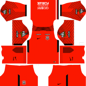 Corinthians Goalkeeper Away Kit