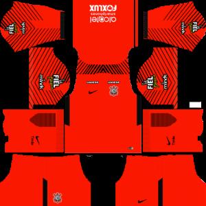 Corinthians Goalkeeper Away Kit