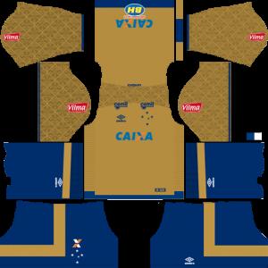 Cruzeiro Goalkeeper Away Kit
