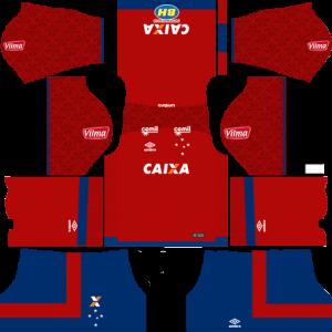 Cruzeiro Goalkeeper Home Kit