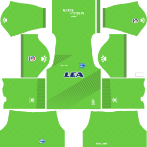 Deportivo Alavés Goalkeeper Away Kit