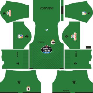 Deportivo de La Coruna GK Away Kit