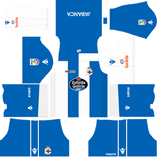 Deportivo de La Coruna Home Kit