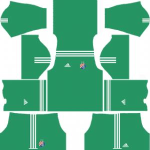 GNK Dinamo Zagreb Goalkeeper Home Kit