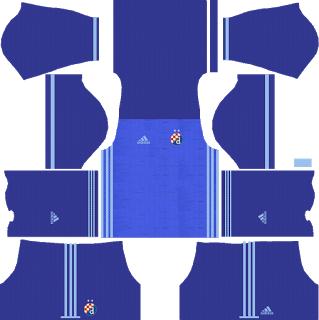 GNK Dinamo Zagreb Home Kit