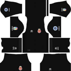 Girona FC Goalkeeper Home Kit