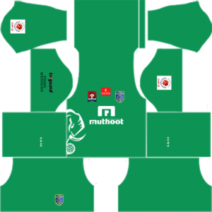 Kerala Blasters GK Home Kit