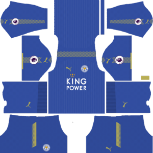 Leicester City Home Kit