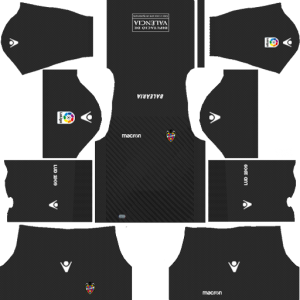 Levante UD Goalkeeper Home Kit