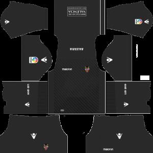 Levante UD Goalkeeper Home Kit