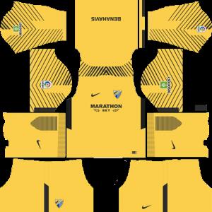 Malaga CF Goalkeeper Away Kit