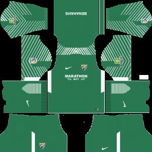 Malaga CF Goalkeeper Home Kit