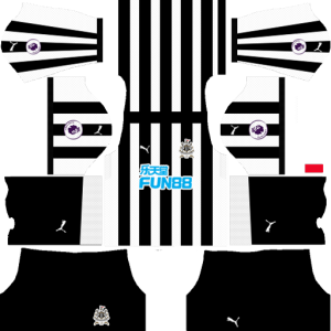 Newcastle United F.C. Home Kit