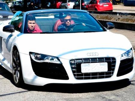 Neymar's car