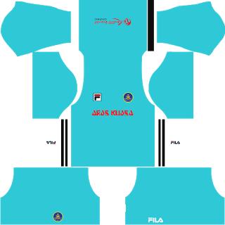 Pahang Fila GK Away Kit