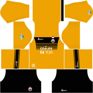 Persija Jakarta Goalkeeper Home kit