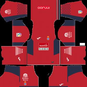 RCD Espanyol Goalkeeper Away Kit