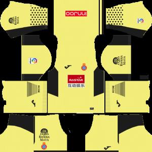 RCD Espanyol Goalkeeper Third Kit