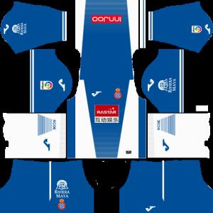 RCD Espanyol Home Kit