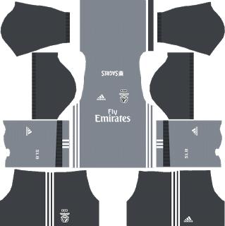 S.L. Benfica Away Kit