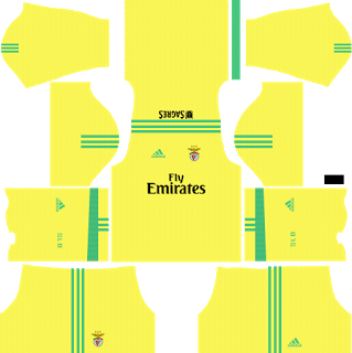 S.L. Benfica Goalkeeper Away Kit