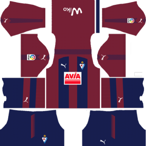 SD Eibar Home Kit