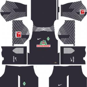 SV Werder Bremen Goalkeeper Third Kit