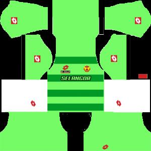 Selangor Away Goalkeeper Kit